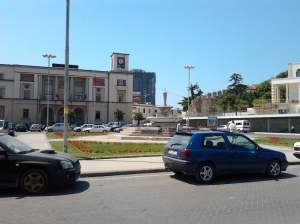 centre of  the city